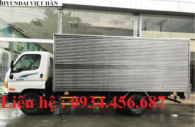 Hyundai 110sp thùng kín inox