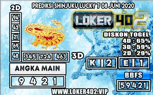 PREDIKSI TOGEL SHINJUKU LUCKY7 LOKER4D2 08 JUNI 2020