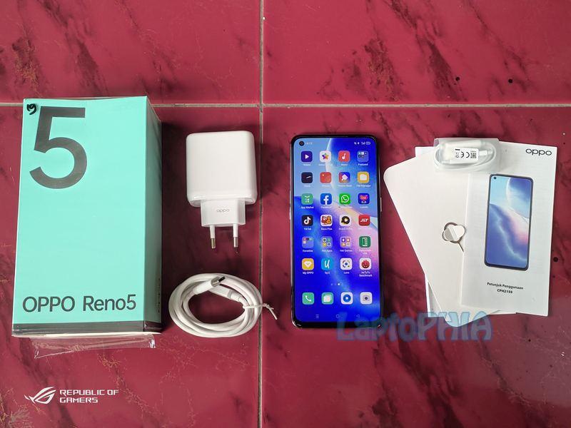 Paket Pembelian Oppo Reno 5