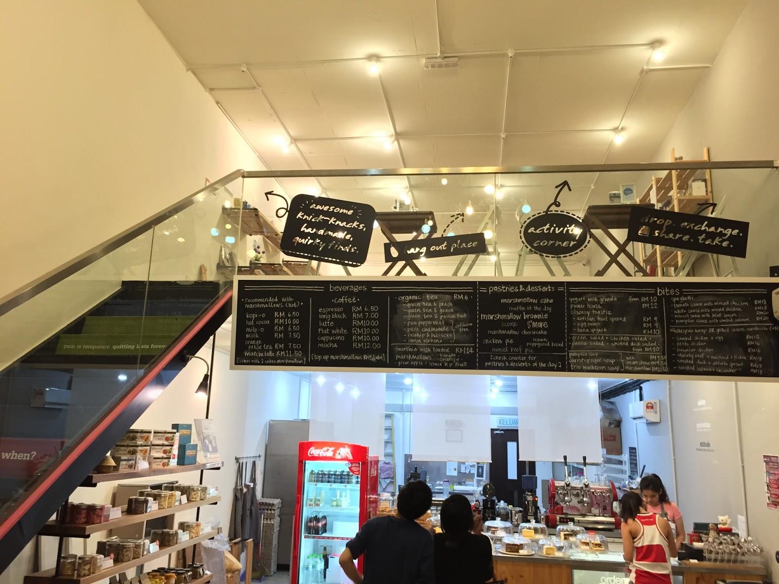 Penang Cafes - Huey & Wah Cafe Interior 2