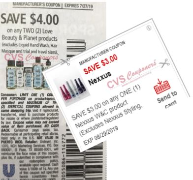 "$4.00/2 Love Beauty & Planet Products  Coupon from ""RMN"" insert week of 7/14 (EXP:7/27)."