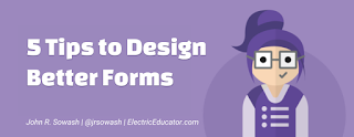 5 tips to design better forms