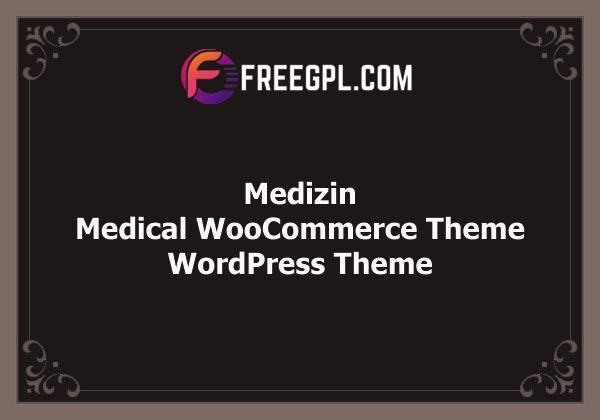 Medizin – Medical WooCommerce Theme Free Download