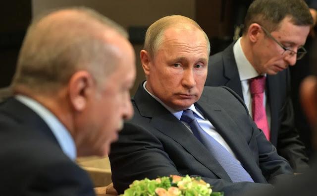 Διαψεύδει το Κρεμλίνο συνάντηση Πούτιν με Ερντογάν