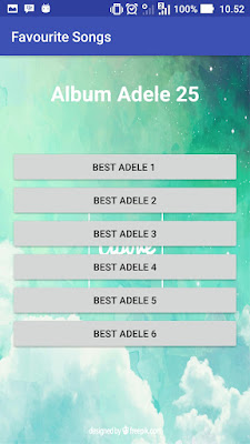 Cara Membuat Aplikasi Favorite Song dengan android studio