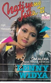 Lenny Widya & Orkes Melayu Aloha - Hati Yang Luka II Audio Kaset RCA Indonesia