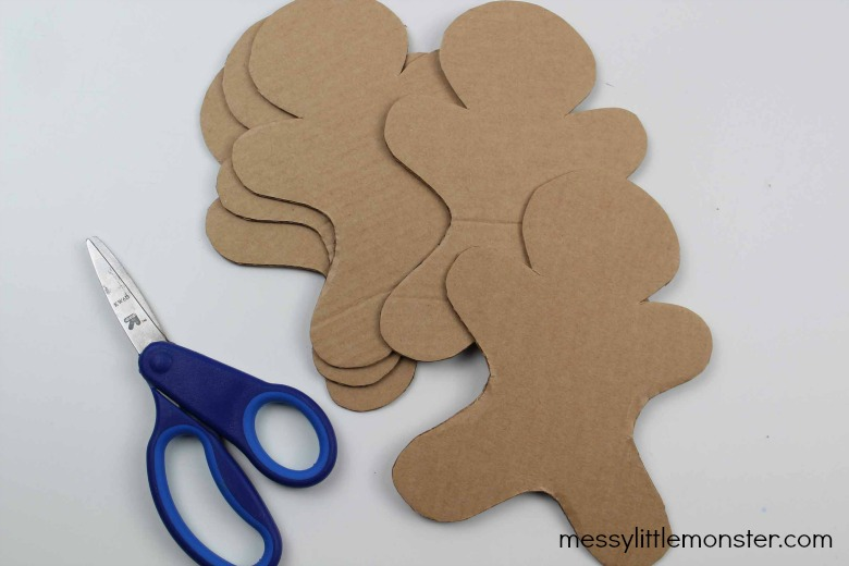 gingerbread man craft