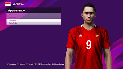 PES 2020 Faces Ezra Walian by PESFaceThai