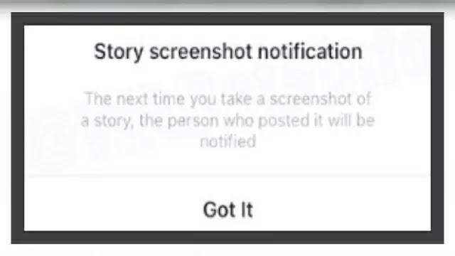 Screenshot stories orang lain bakal ketahuan