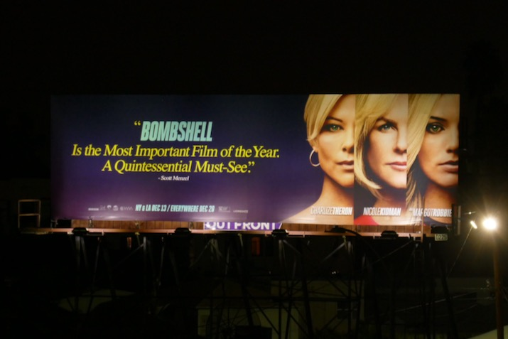 Bombshell quintessential must-see billboard