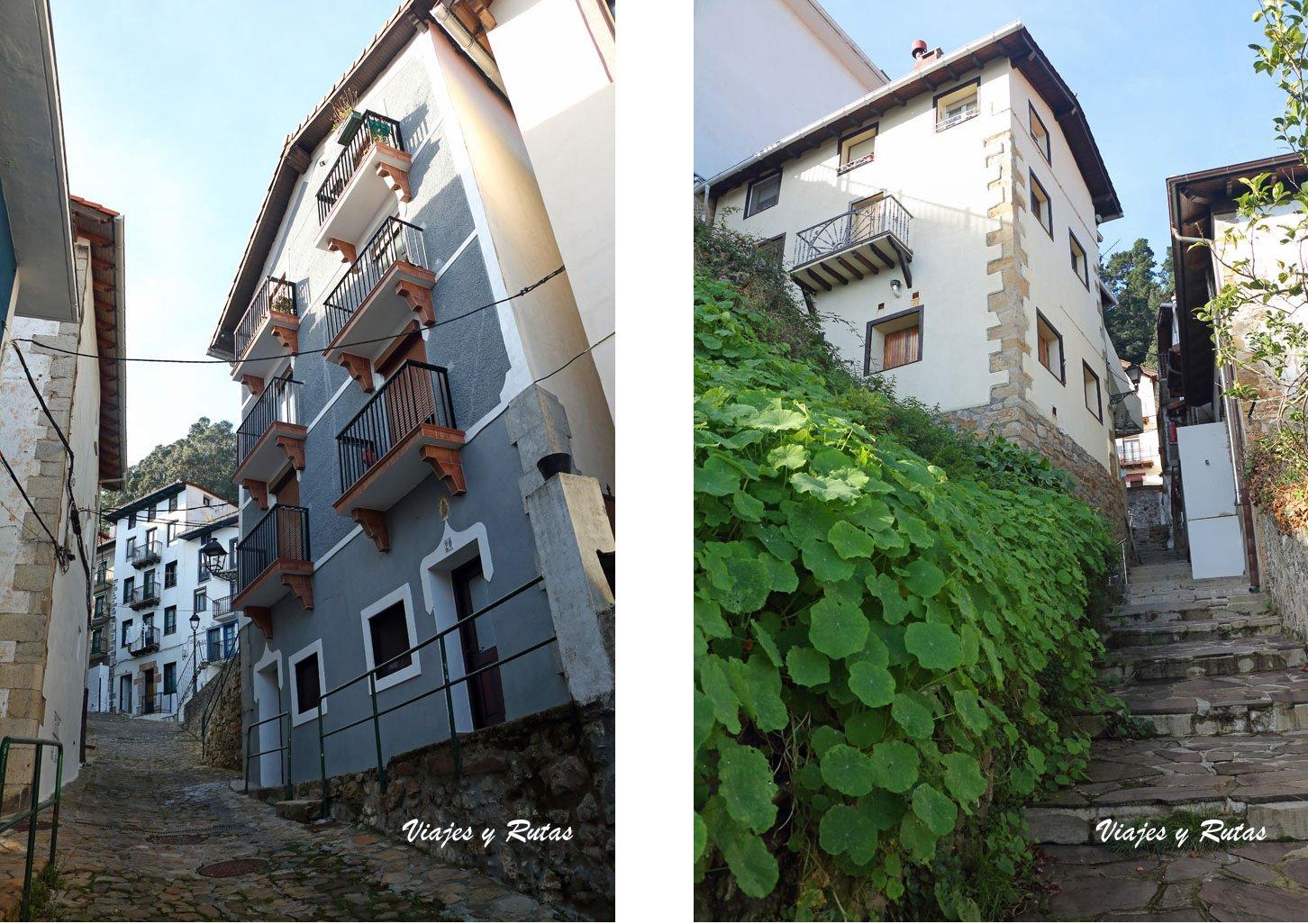 Calles de Elantxobe, Bizkaia