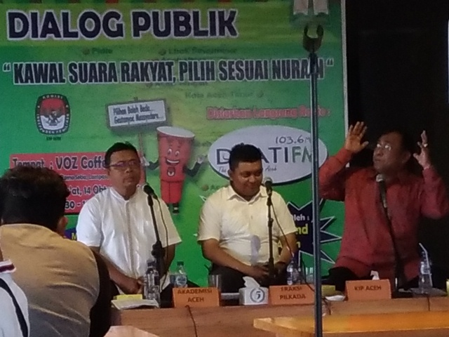Seluruh Kandidat di Aceh Harus Miliki Saksi dalam TPS