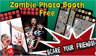 zombie photo booth free by kaufcom