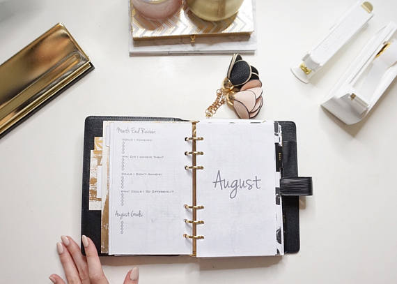 My Planning System: Monthly, Weekly, and Daily www.MalenaHaas.com