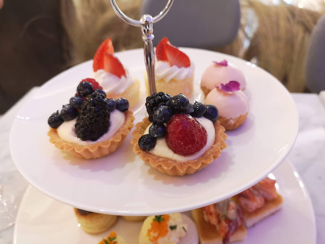 Lady M afternoon tea - sweets