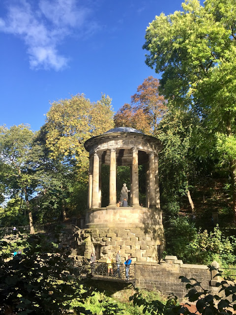 St Bernard's Well, Water of Leith, Edinburgh, Scotland