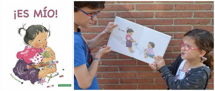 cuentos infantiles mejorar relación hermanos: compartir, rivalidad ¡es mío!