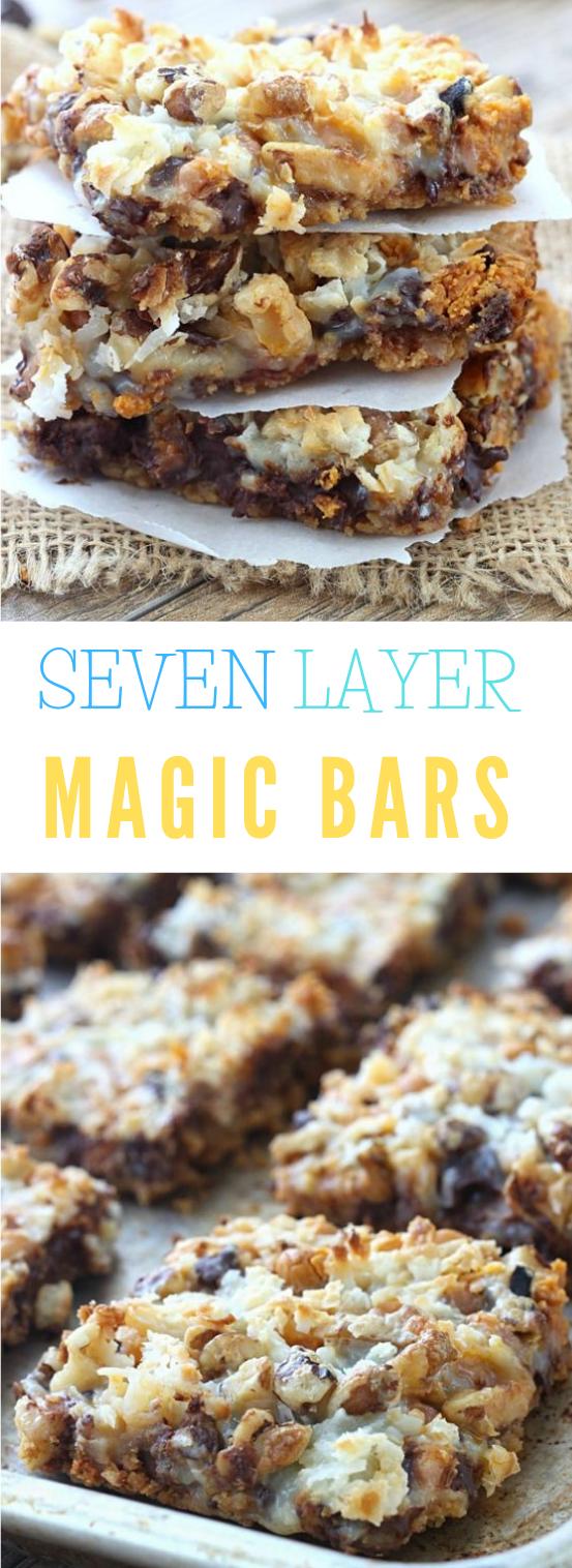 SEVEN LAYER MAGIC BARS RECIPE #recipe #dessert