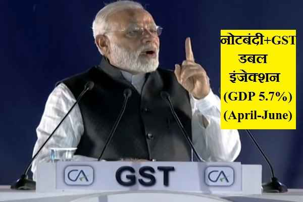 india-gdp-down-due-to-modi-double-injection-notbandi-and-gst
