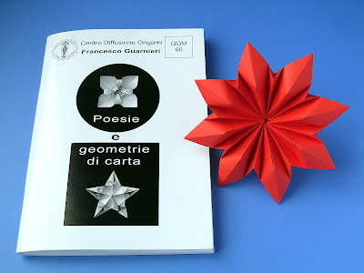 Origami, Booklet QQM 60 and Fiore Octopetalus by Francesco Guarnieri