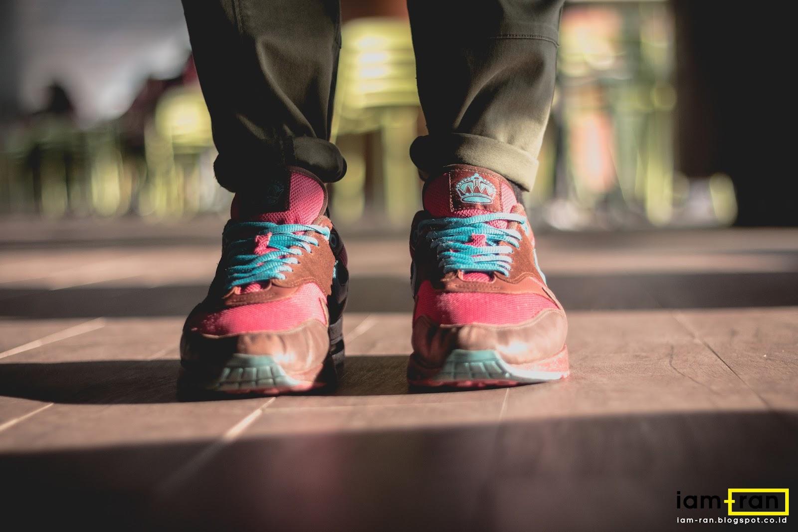 IAM RAN: ON FEET : Dimas Indro Nike Air Max 1 X Patta X