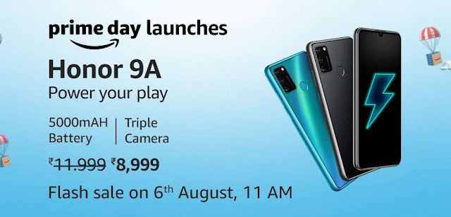 HONOR 9A Launched With FullView Display, 5000mAh Battery, 13MP Triple Camera & More