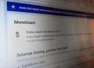 Monetisasi Terkait Konten COVID-19