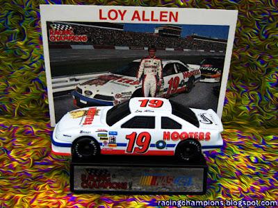 Loy Allen Jr. #19 Hooters Racing Champions 1/64 NASCAR diecast blog
