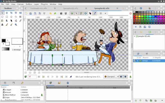 Synfig Studio - 2D Animation Software