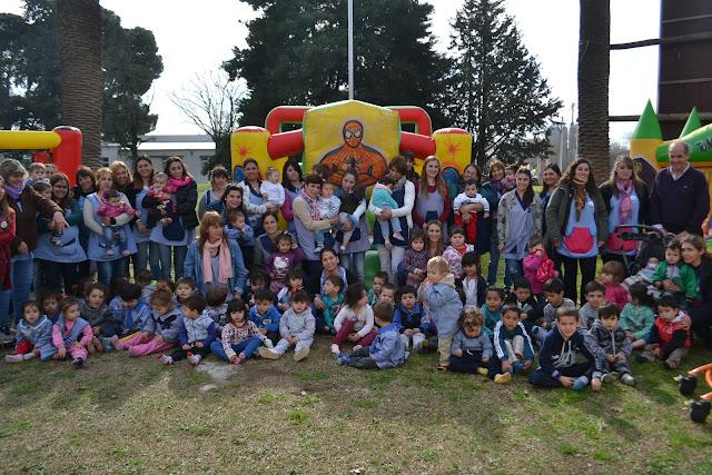 Festejos en Casa del Niño y SUM de quinta Los Amigos