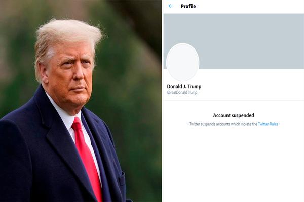 ترامب يقاضي تويتر لاستعادة حسابه