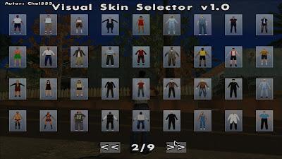GTA San Andreas Visual Script Pack Latest Version