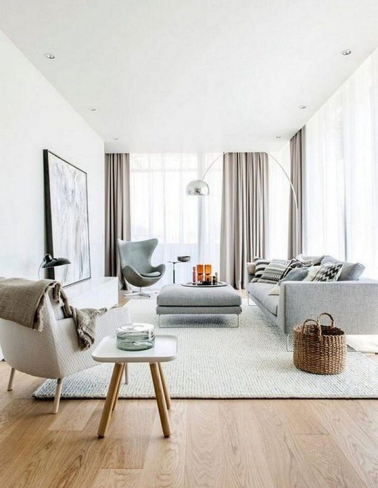 Amazing Scandinavian Living Room Design Idea Nordic Style