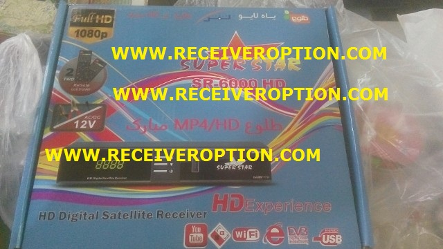 SUPER STAR SR-6000 HD RECEIVER AUTO ROLL POWERVU KEY NEW SOFTWARE
