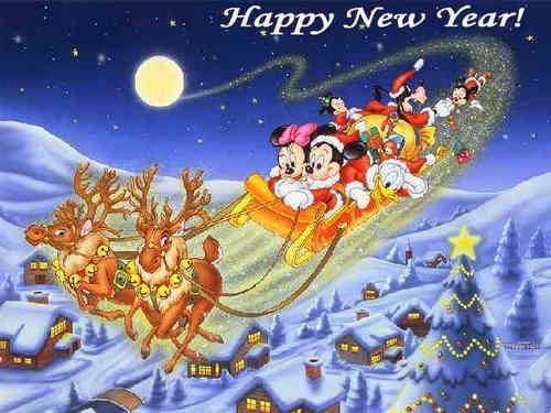 Happy New Year 2016 Cartoon Images Animated