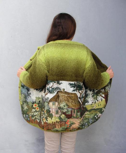 Gobelin Tapestries Inspired Clothing
