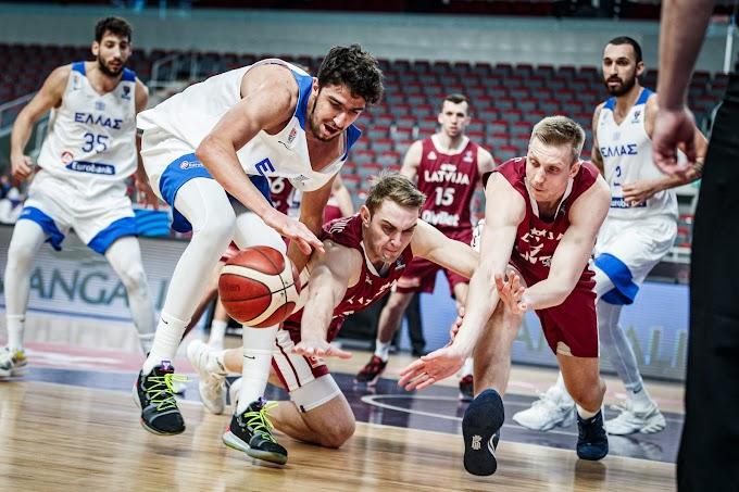 Μεγάλη νίκη επί της Λετονίας στην παράταση για την Εθνική Ανδρών-Φωτορεπορτάζ από το παιχνίδι