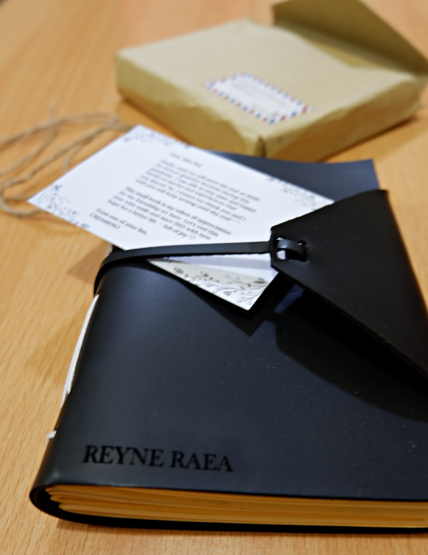 notebook handmade gift from creameno