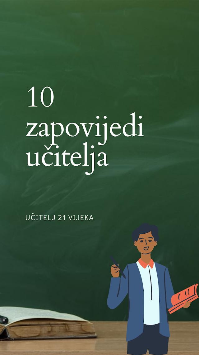 10 ZAPOVIJEDI UČITELJA