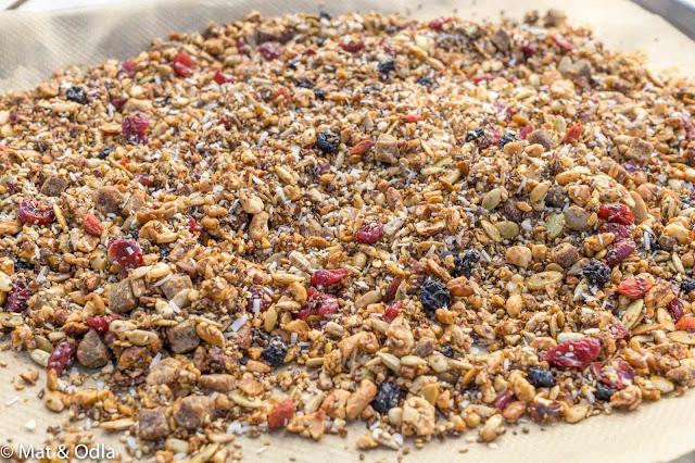 egengjord granola