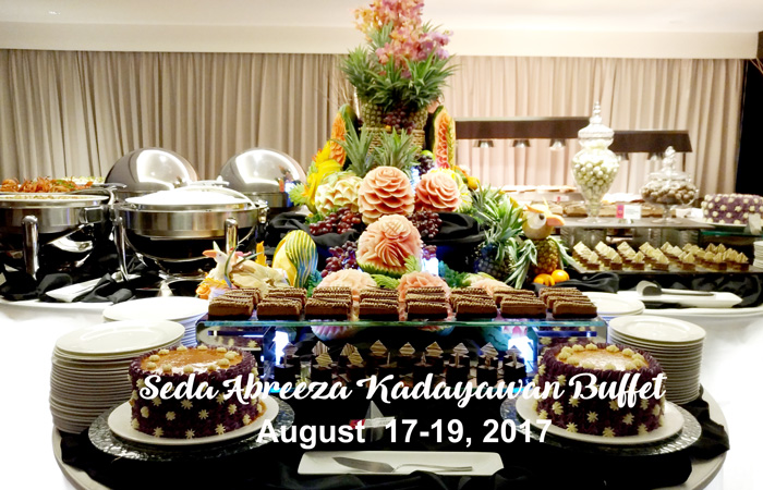 Seda Abreeza Kadayawan 2017 Dinner Party