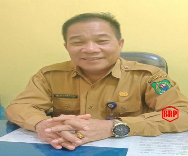 Minim Anggaran, Disdukcapil Kapuas Berhasil Laksanakan Pelayanan 90% e-KTP dan Akta Tahun 2019