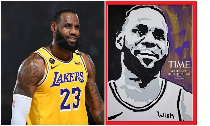 LeBron James named TIME's 2020 Athlete of the Year