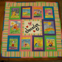 A Quilt for Baby Jocelyn