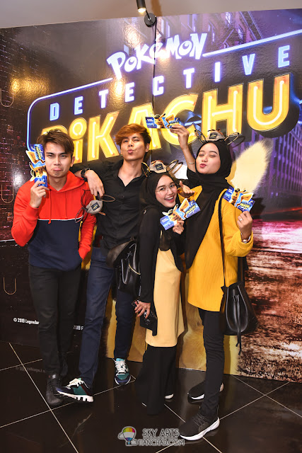 Detective Pikachu Movie Premiere Party Night at GSC Mid Valley Megamall