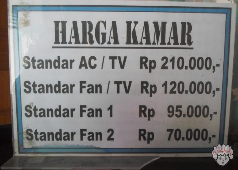 Daftar Tarif Kamar Indonesia Hotel