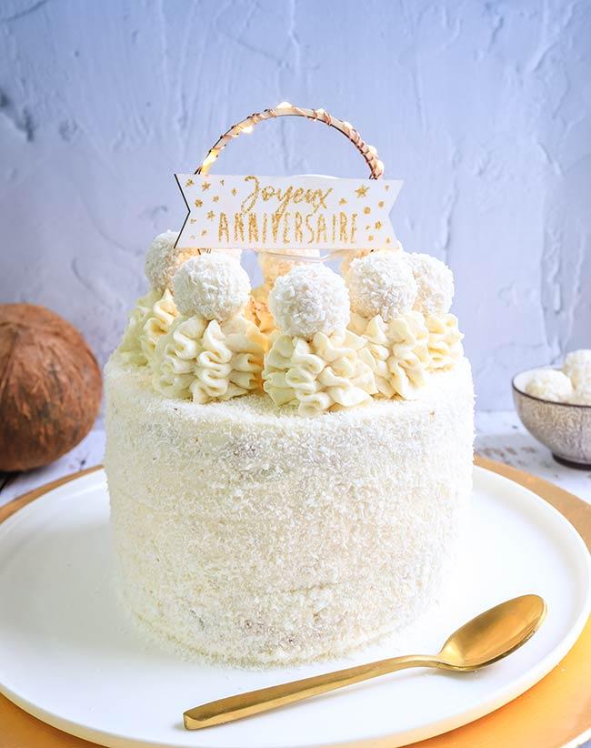 layer cake noix de coco