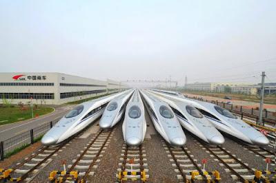 اسرع قطار في العالم