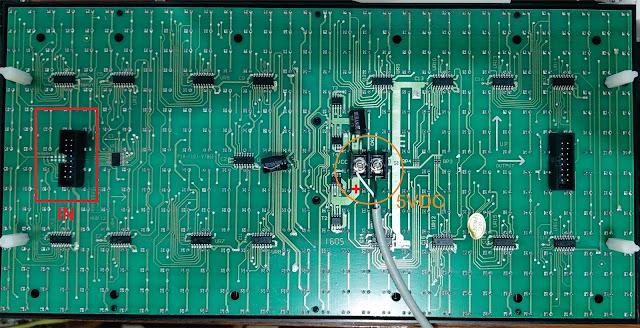 NodeMCU DMD P10