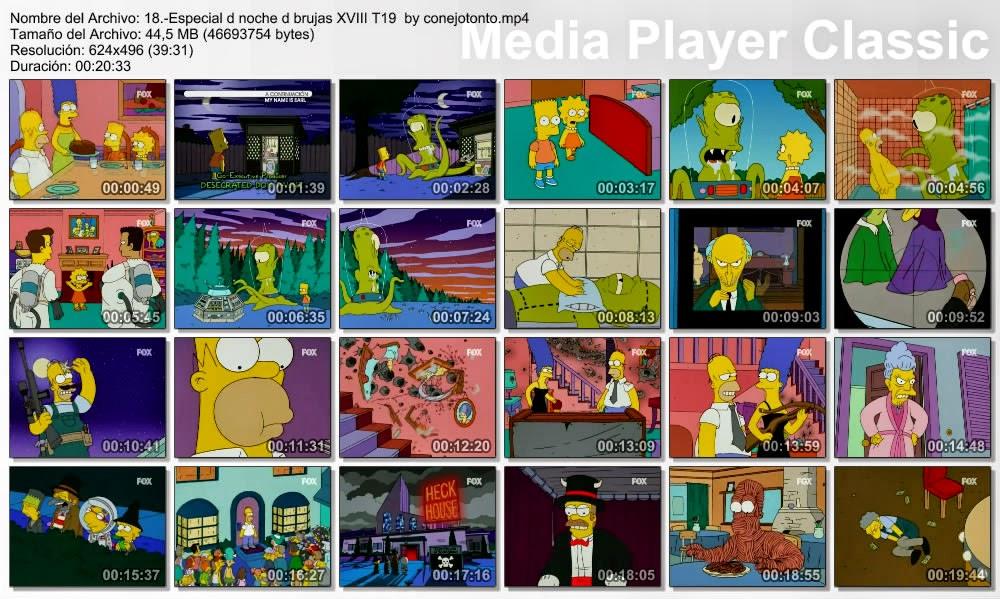 Los Simpsons: Especial de Noche de Brujas [Treehouse of Horror